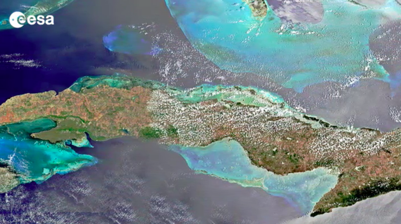 Today's Video of the Day comes thanks to the European Space Agency's Earth from Space series and features a look at Cuba.