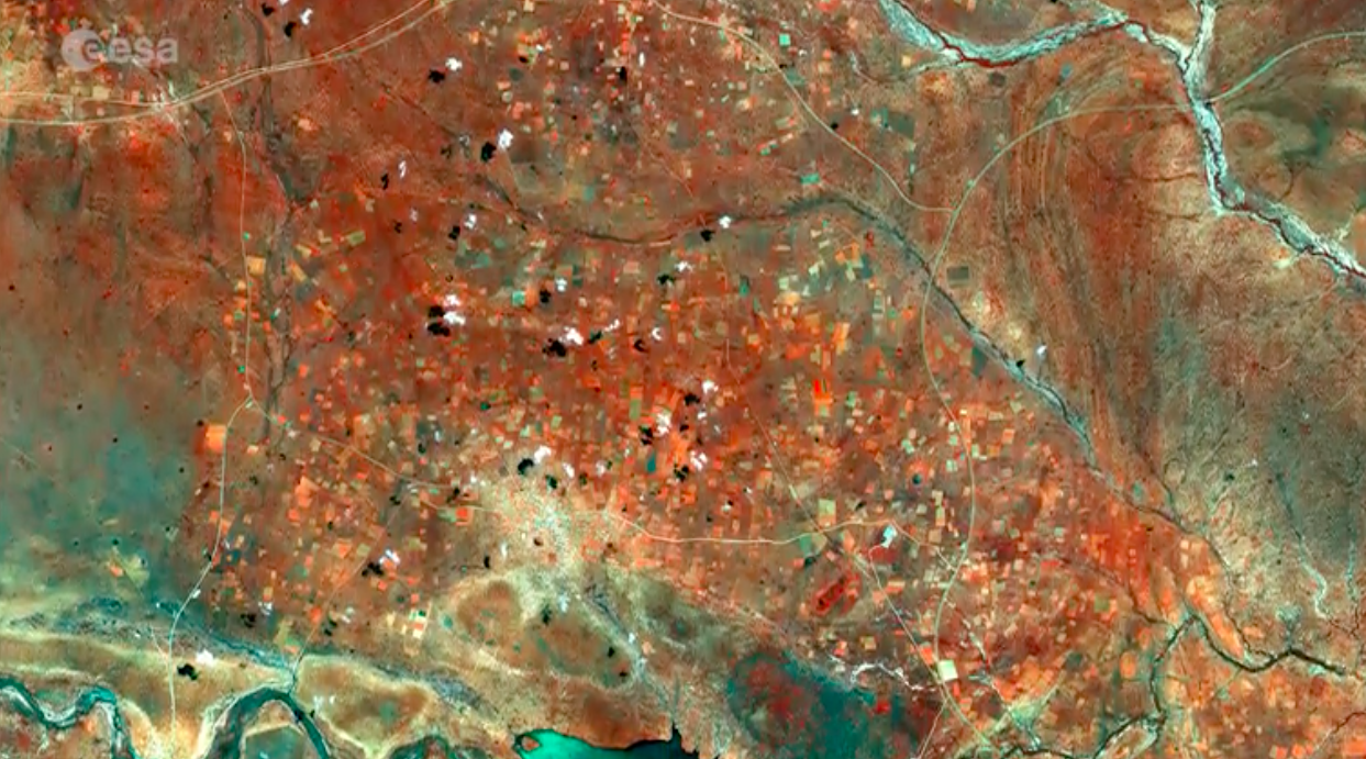 Today's Video of the Day comes thanks to the European Space Agency's Earth from Space series and features a look at Botswana.