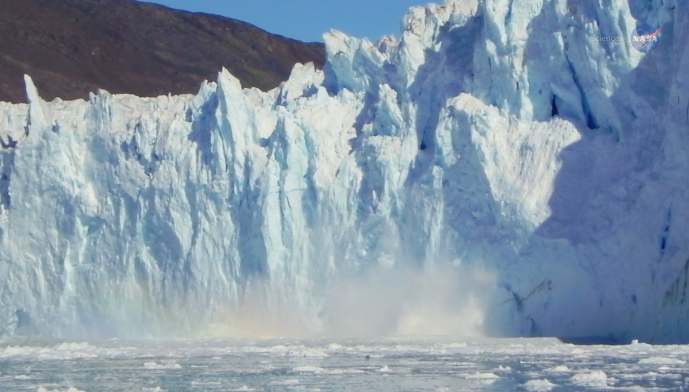 Today's Video of the Day comes thanks to NASA's ScienceCasts series and features a look at the thinning ice sheets in Greenland.