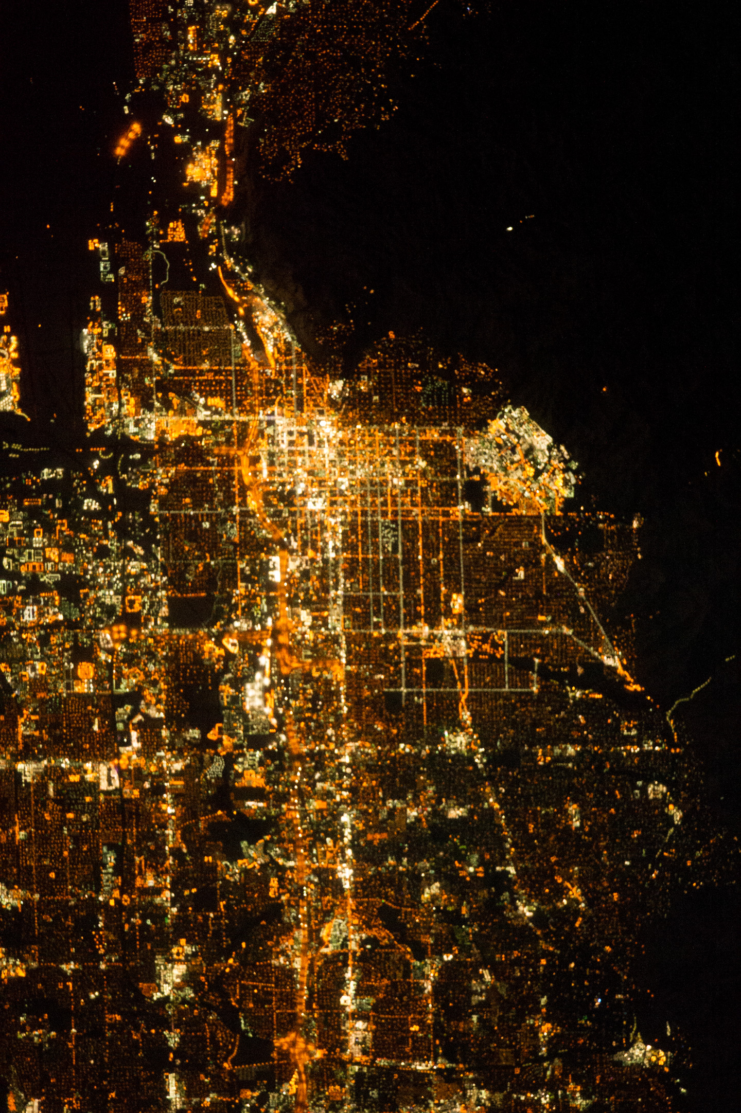 Today's Image of the Day comes thanks to the NASA Earth Observatory and features a look at the city of Salt Lake City at night.