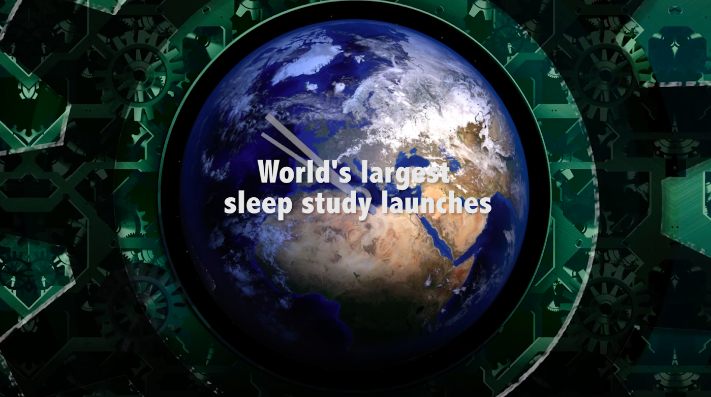 Today's Video of the Day comes thanks to the University of Western Ontario, who have just launched the largest sleep study ever.