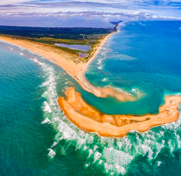"A new island ""appeared out of nowhere"" in April just off North Carolina's Outer Banks, National Geographic reported."