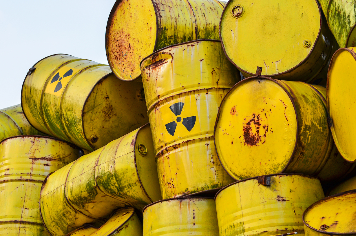 A Canadian uranium mining company won't be fined for twice spilling low-level radioactive sludge outside a Utah waste disposal facility.