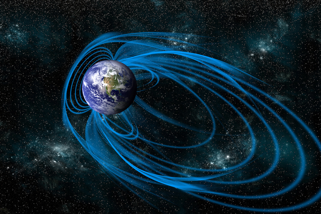 "Scientists have discovered a geomagnetic ""fingerprint"" allowing them to study the Earth's magnetic field and its past with finer resolution."