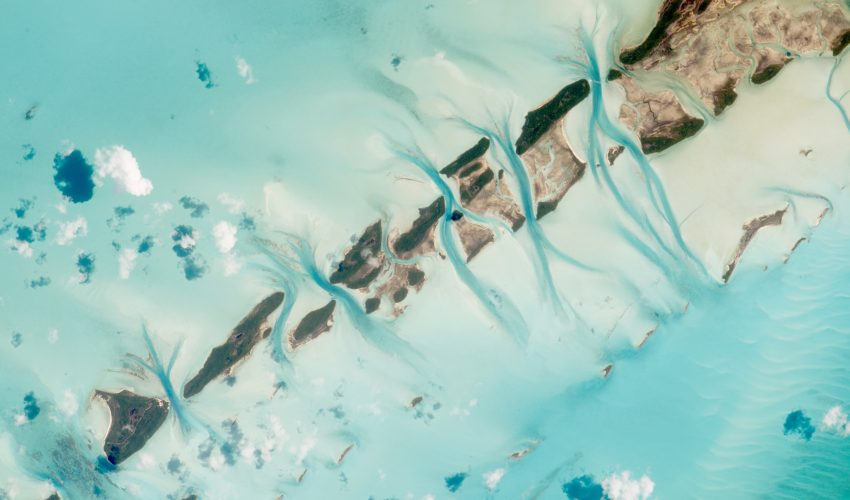 Today's Image of the Day comes thanks to the NASA Earth Observatory and features a look at Great Exuma Island in the Bahamas.