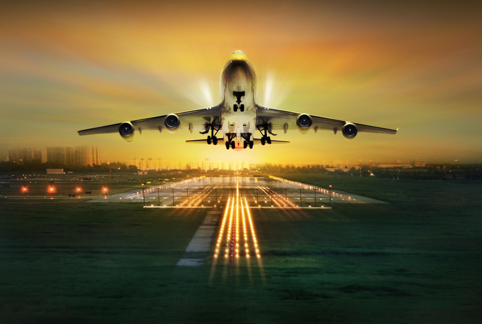 взлетающий самолет фото красивые картинки выбор опоры