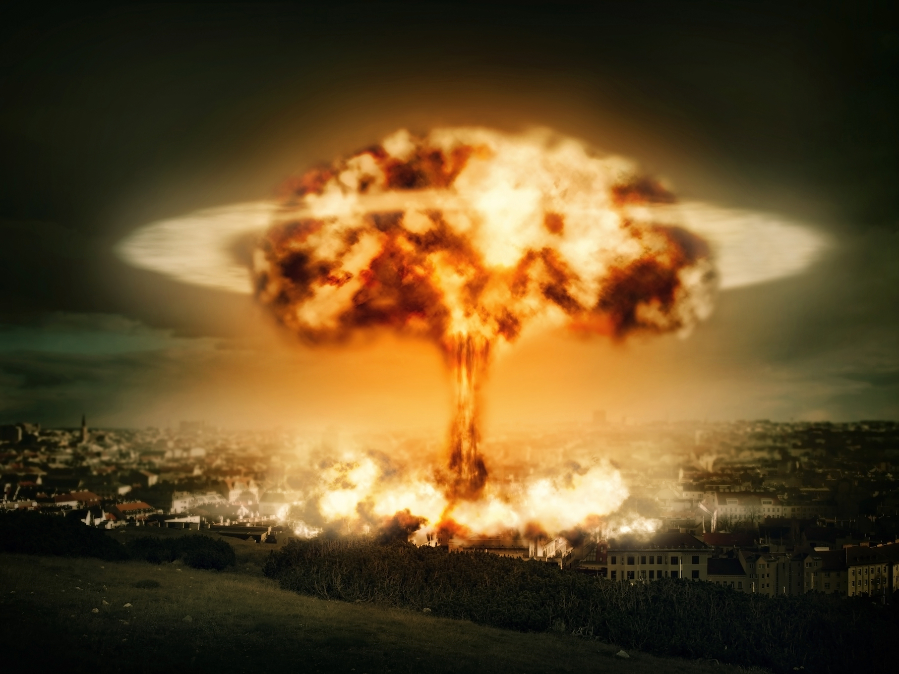 The impact of a single nuclear warhead would cause extreme climate change with drought and famine severe enough to kill millions of people.