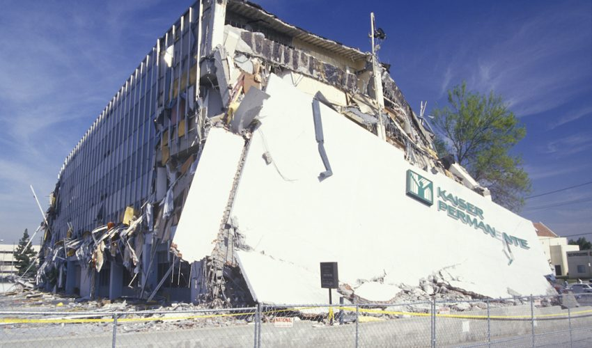Researchers are simulating the 1994 Northridge earthquake to help design buildings that can survive earthquakes with little repair.