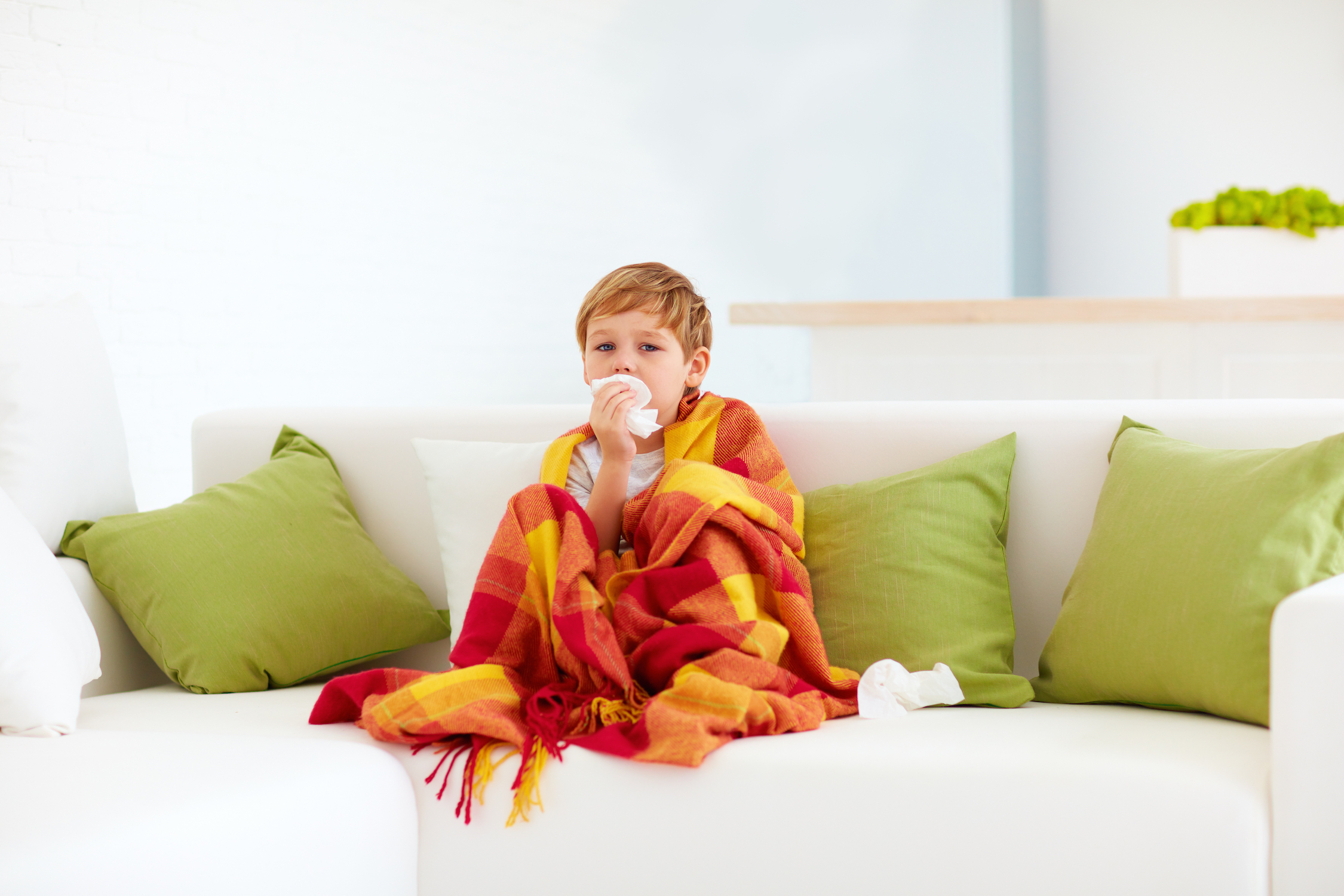 A high daily dose of vitamin D does not lower the risk of wintertime upper respiratory tract infections in young children.