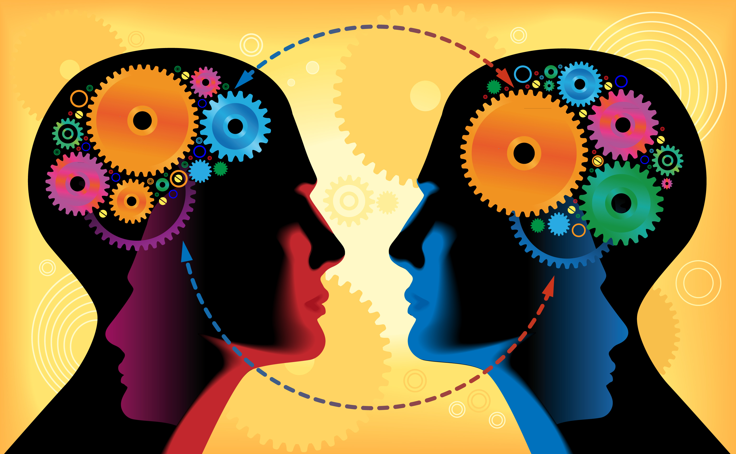 Verbal communication causes human brains to synchronize their activity, according to a new study.