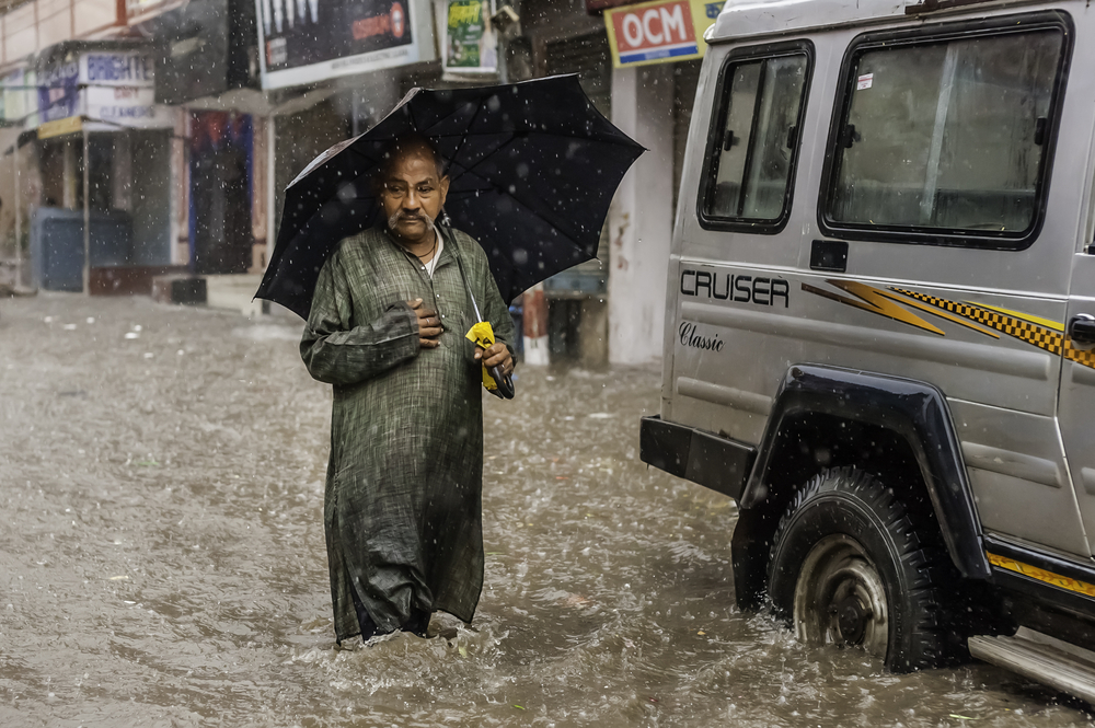 Indian monsoons in the northern and central part of the country have unexpectedly reversed a drying trend.