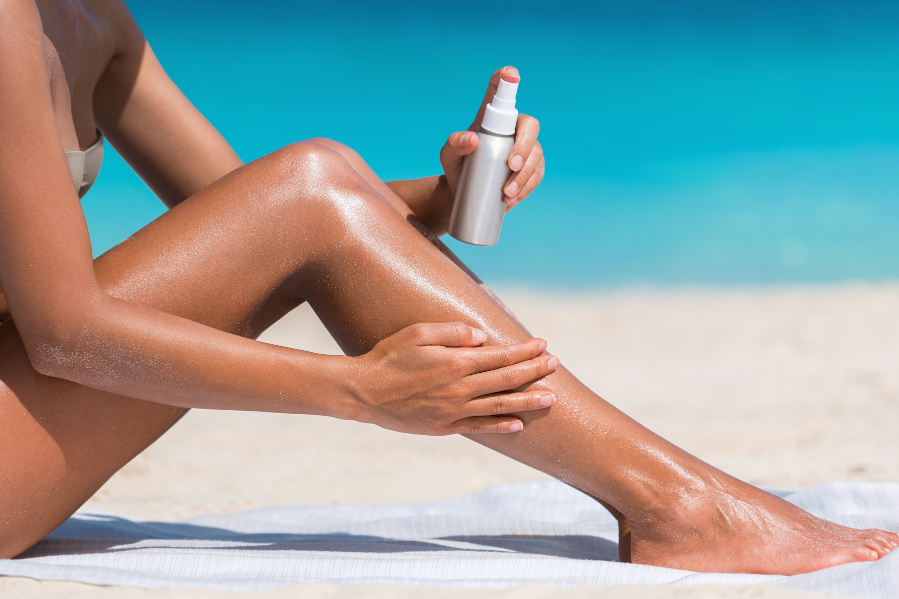 Researchers at Binghamton University and State University of New York have developed a UV skin protection coating that is made out of DNA.