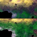 Today's Image of the Day comes thanks to the European Space Agency's Proba-V satellite and features a look at Africa's sub-Saharan Sahel.