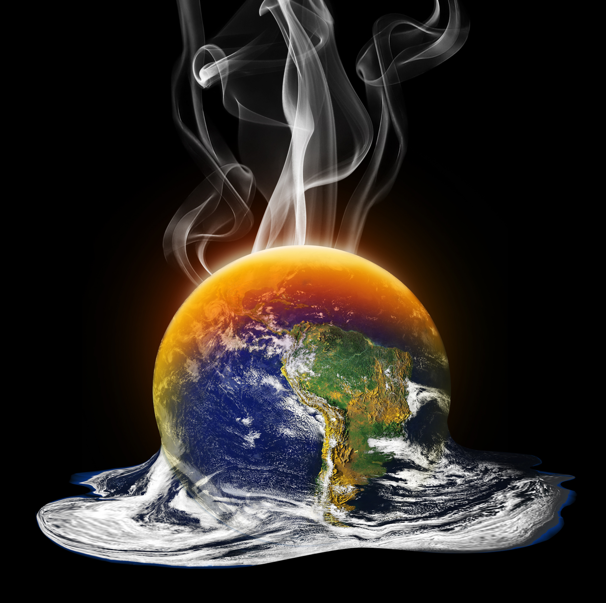 If all greenhouse gas emissions stopped immediately, Earth would continue to warm by two degrees Fahrenheit by 2100.