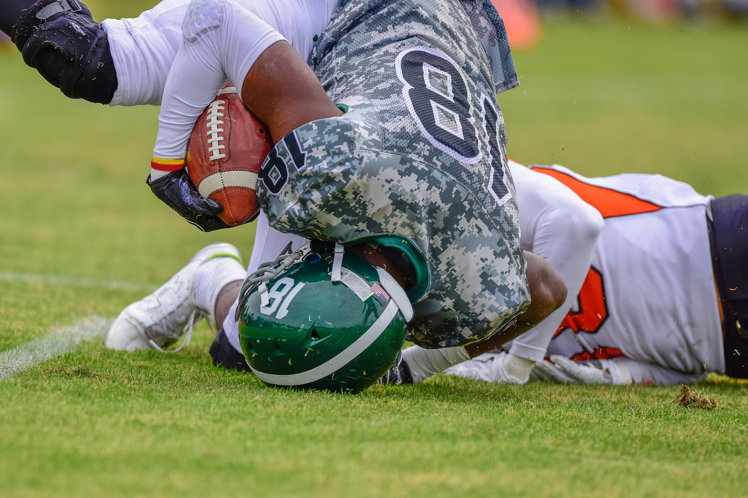 Playing high school football did not cause abnormal cognitive impairment or depression later in life, according to a new study.