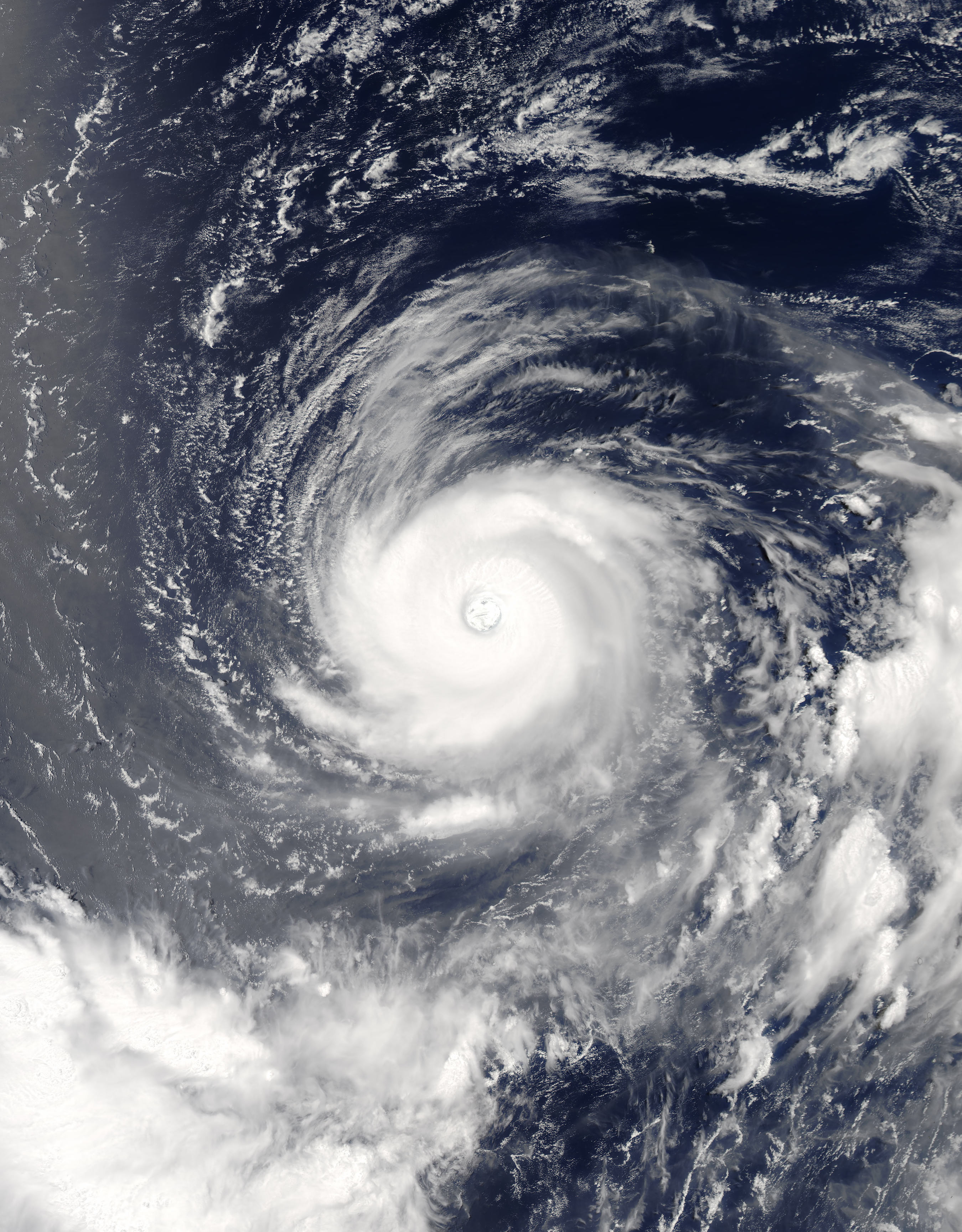 Today's Image of the Day comes thanks to the NASA Earth Observatory and features a look at Super Typhoon Noru in the Pacific Ocean just south of Japan.