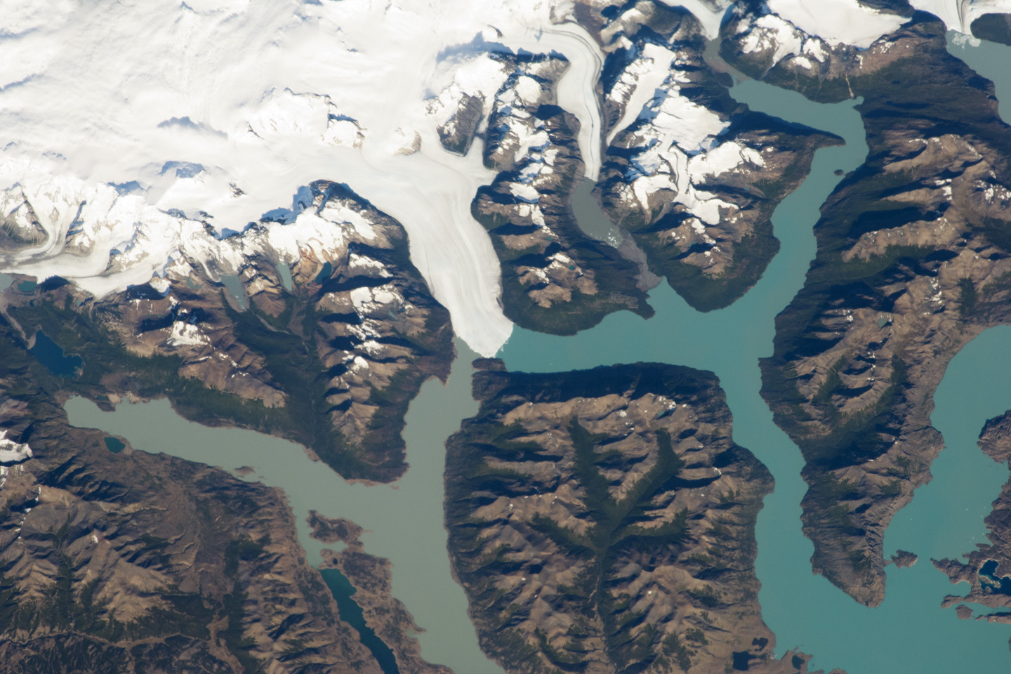 Today's Image of the Day comes thanks to the NASA Earth Observatory and features a look at the Perito Moreno Glacier in Argentina.