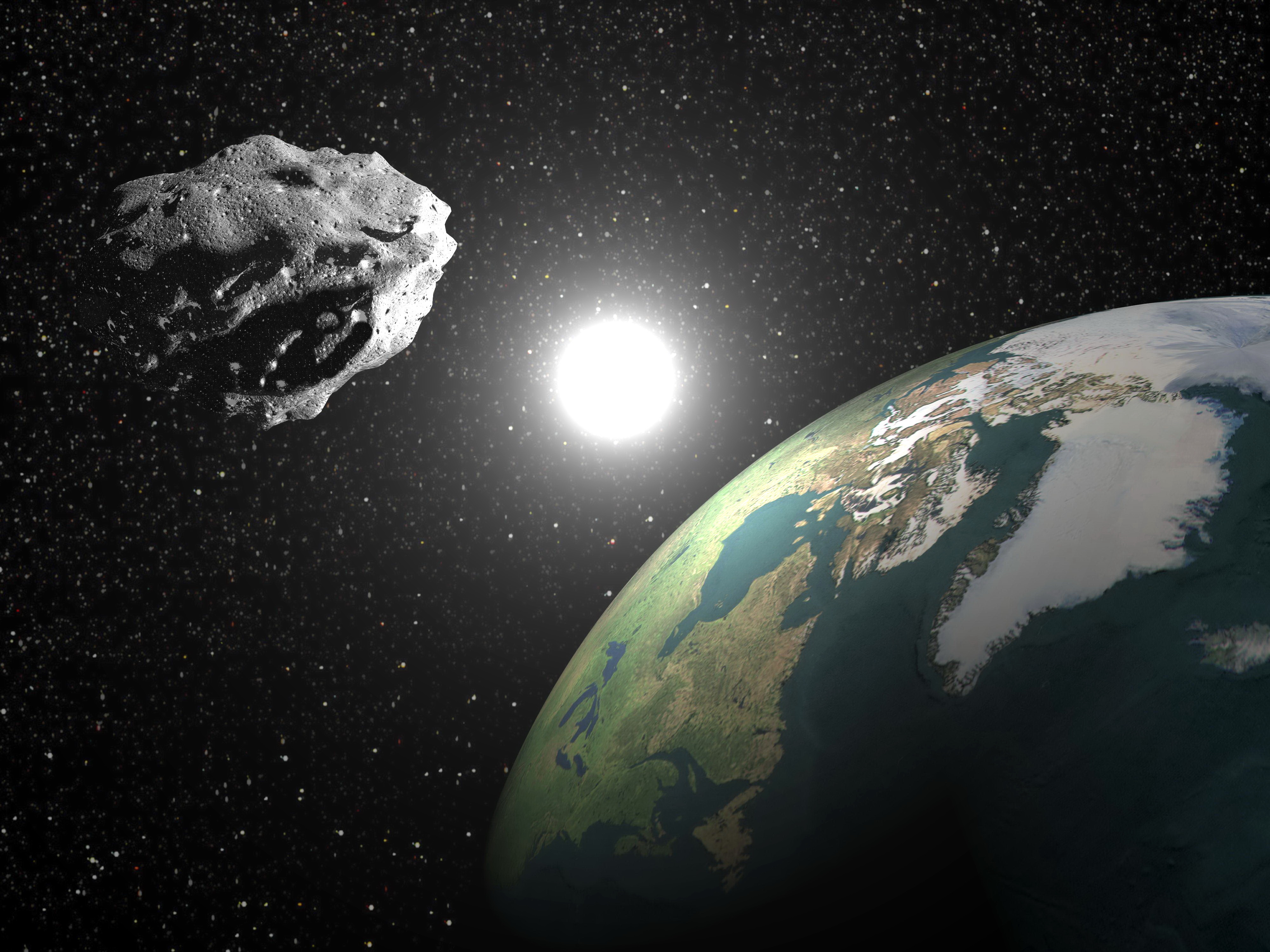 The largest near-Earth asteroid scientists have ever tracked will pass by the planet on September 1st, 2017.
