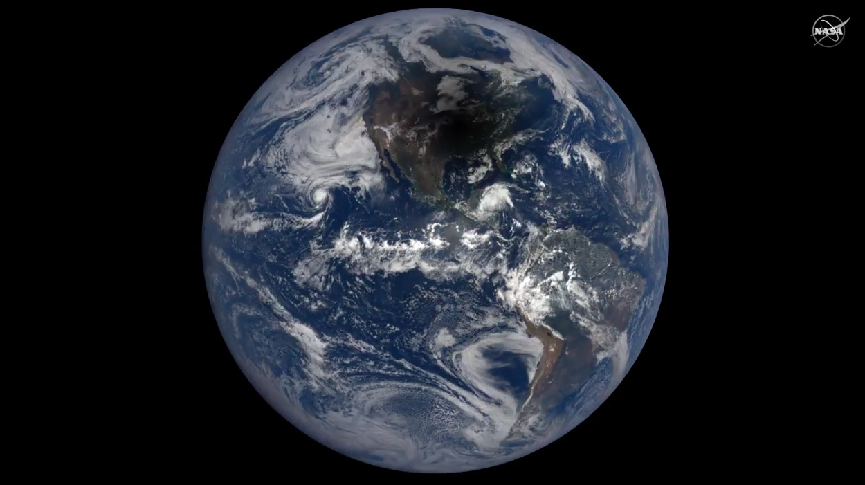 Today's Video of the Day comes from NASA Goddard and features a look at this week's Great American Total Solar Eclipse from space.