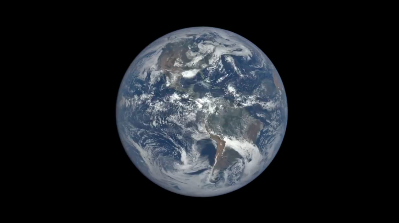 Today's Video of the Day comes from NASA Goddard and features a look at one year in the life of Earth… from one million miles away.