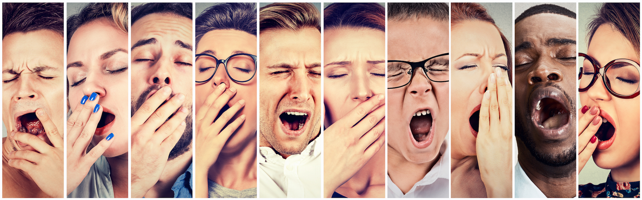 According to new research, yawning is a common form of echophenomena, or the automatic imitation of another person's words or actions.