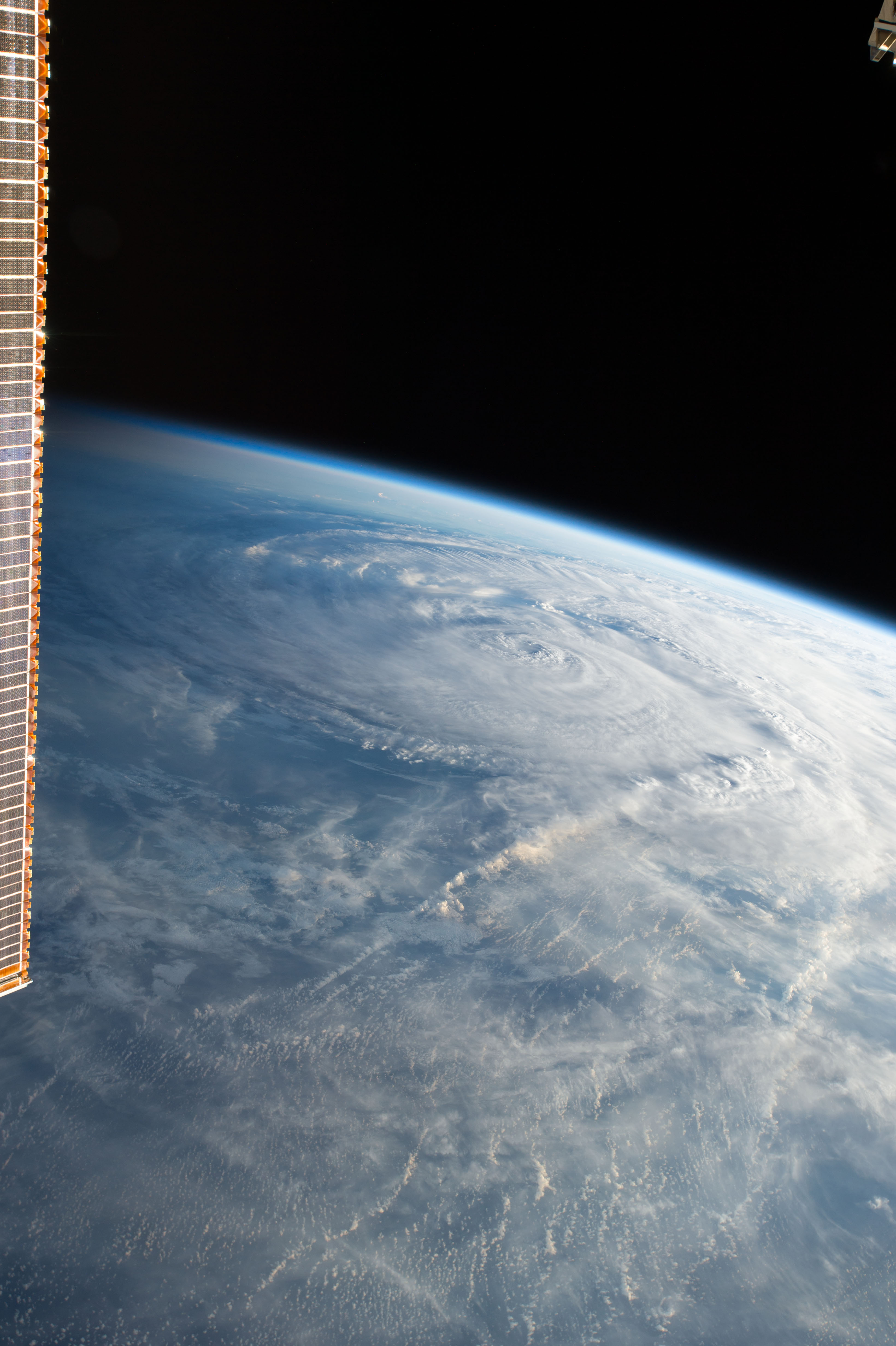 Today's Image of the Day comes thanks to the NASA and features a look at Hurricane Harvey as seen from the International Space Station.