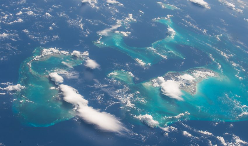 Today's Image of the Day comes thanks to the NASA and features a look at the Bahamas as seen from the International Space Station.