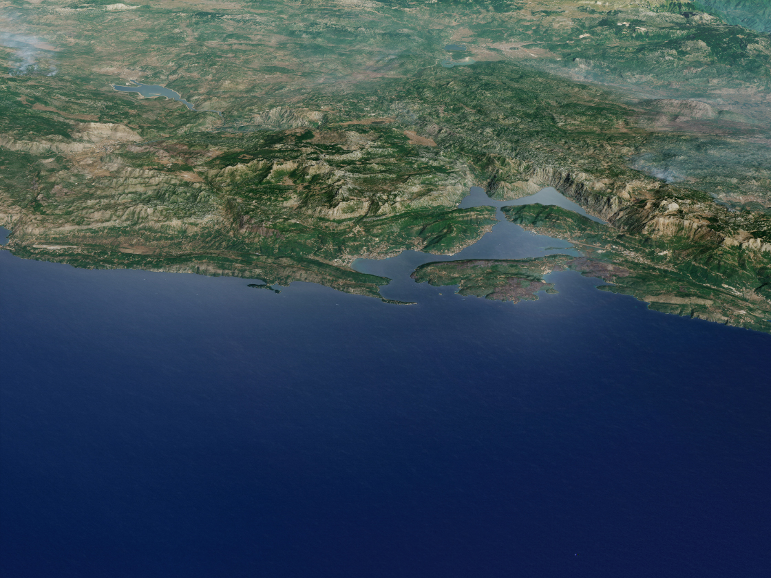 Today's Image of the Day comes thanks to the NASA Earth Observatory and features a look at the Bay of Kotor in Montenegro.