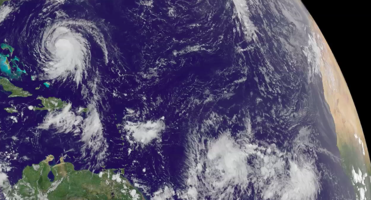 Today's Video of the Day comes from NASA and the NOAA and features a look at storms Jose, Maria, and Lee swirling through the Atlantic Ocean.