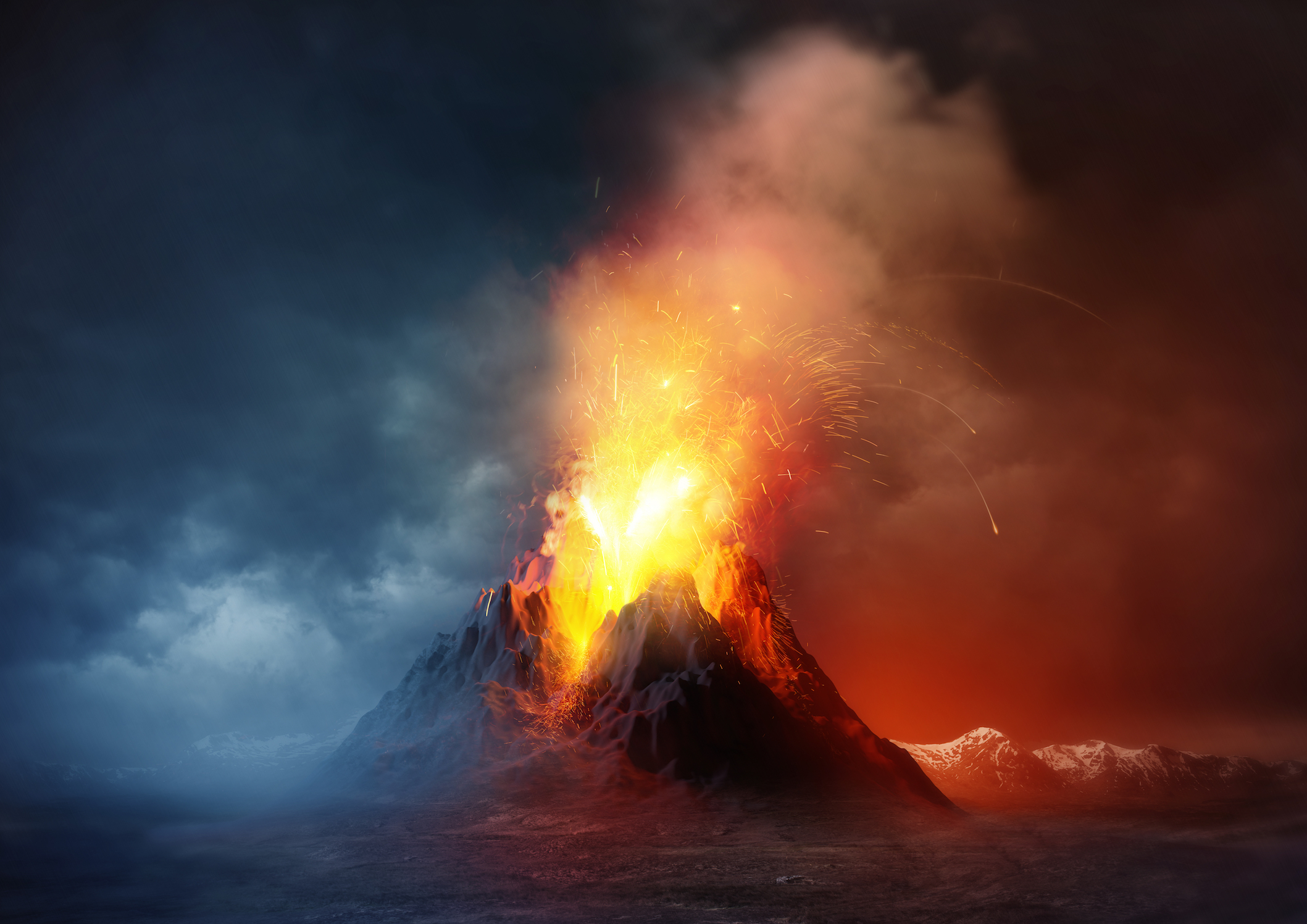 Shifts in surface temperatures and geological landscape from climate change could cause an uptick in volcanic activity.