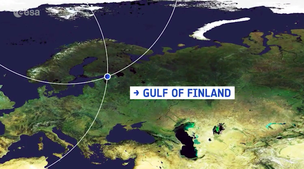 Today's Video of the Day comes from the European Space Agency's Earth from Space series and features a look at the Gulf of Finland.