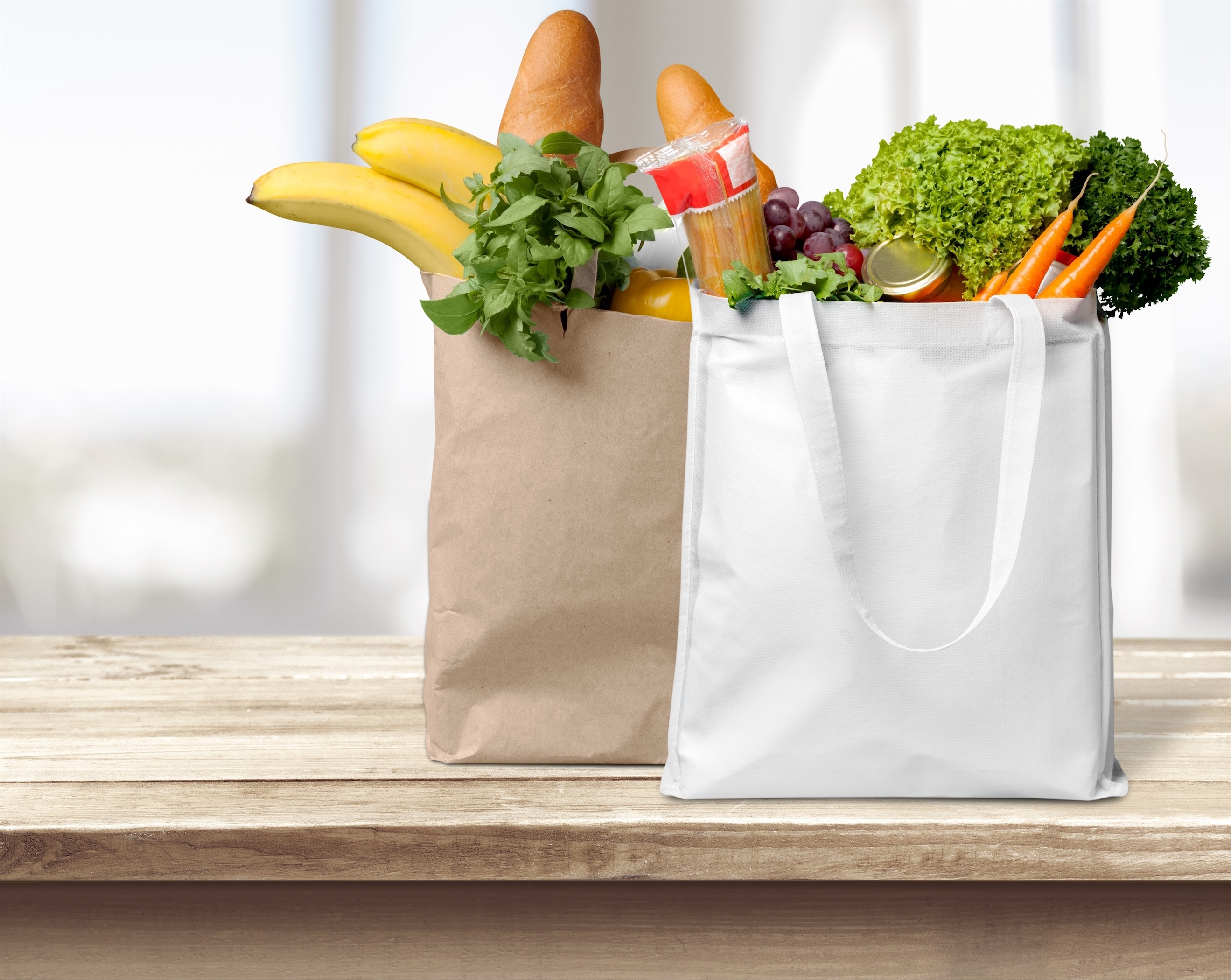 Reusable Grocery Bags Can Also Spread Bacteria From Raw Food Including Produce And Meat