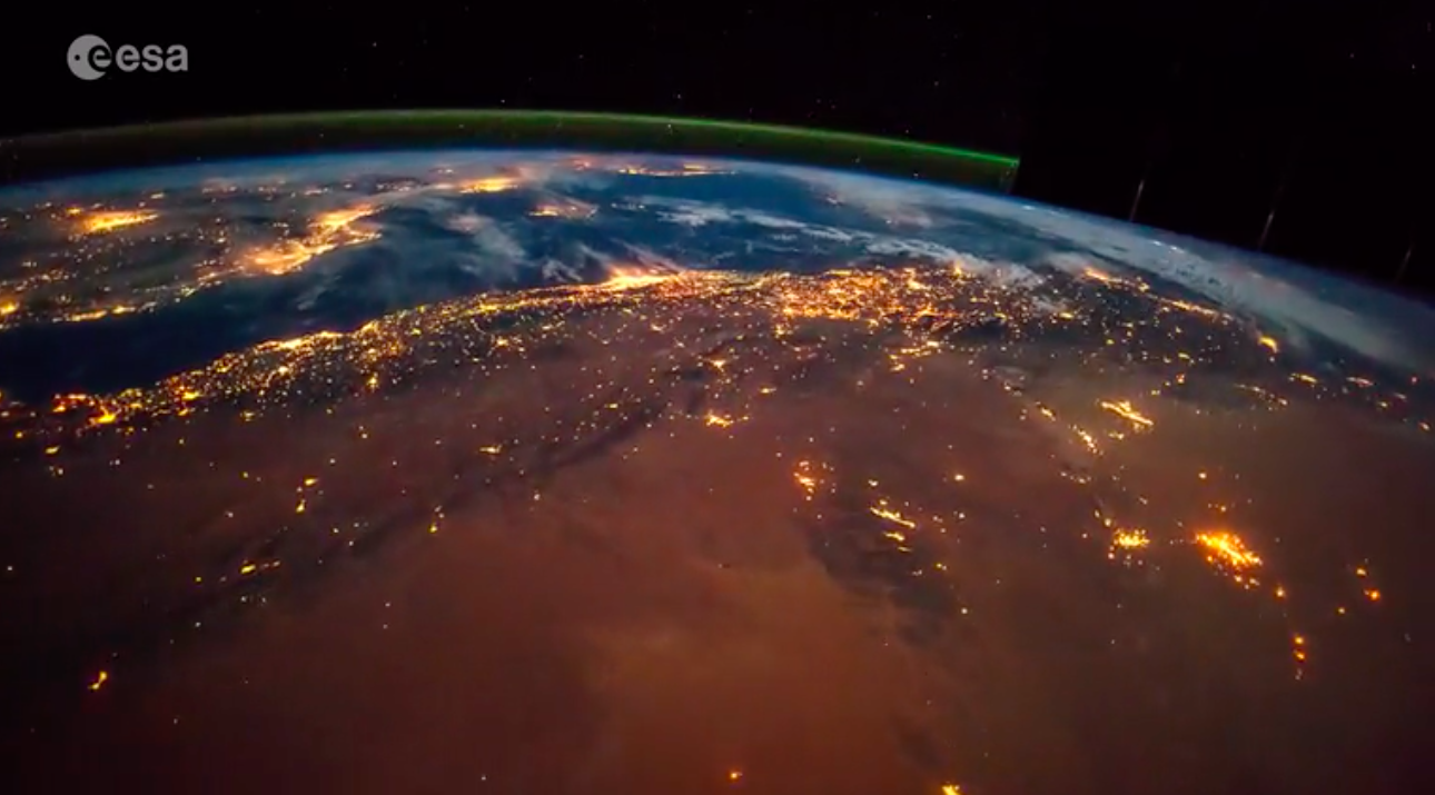 Today's Video of the Day comes from the European Space Agency's Earth from Space series and features a timelapse view from Africa to Russia.