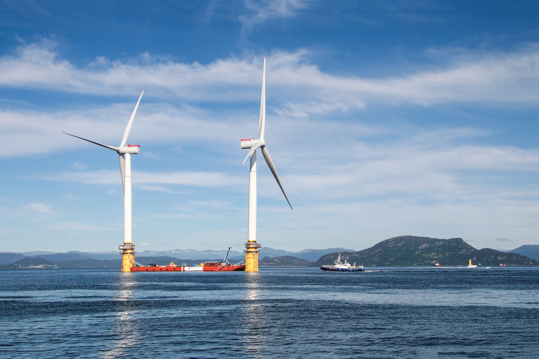 According to a recent study, open ocean wind farms may be able to generate three times more power than wind turbines on land.