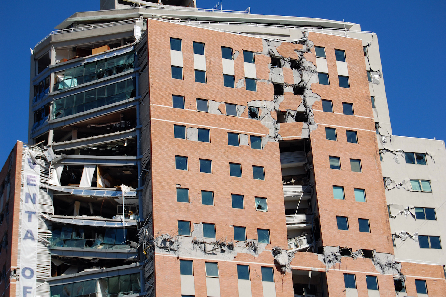 Researchers have created a super resilient, ductile spray coating that helps buildings keep structural integrity during major earthquakes.