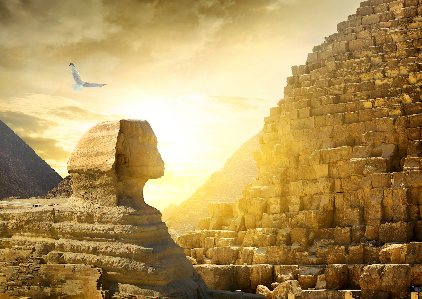 Researchers reconstructed climate change in ancient Egypt and discovered that it had a profound effect on economic and political stability.