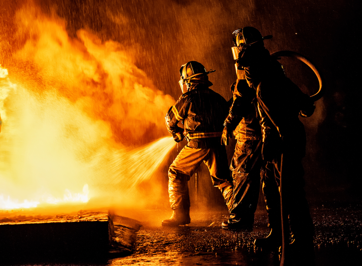 The CDC has reported that firefighters had higher rates of several kinds of cancer than the general population.