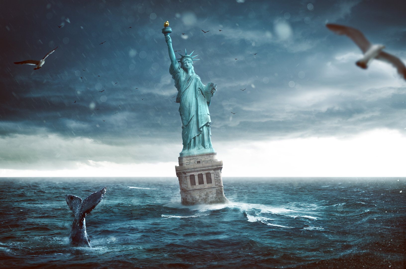 A new study has found that parts of New York City could be submerged beneath 50 feet of floodwaters by the year 2300.A new study has found that parts of New York City could be submerged beneath 50 feet of floodwaters by the year 2300.
