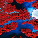 Today's Image of the Day comes thanks to the European Space Agency (ESA) and features a look at the Nordenskiold Glacier in Greenland.