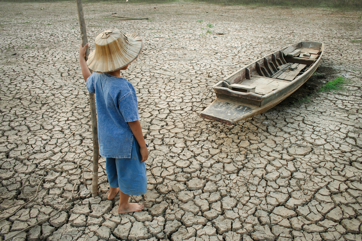 As the population grows and carbon dioxide emissions increase, future generations will become more susceptible to climate change.