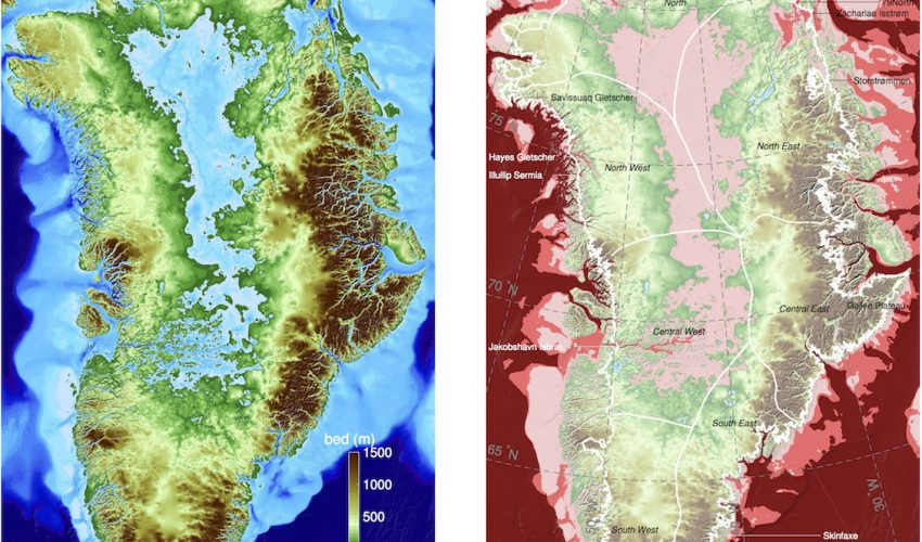 new nasa images of greenlands coast have revealed that 2 to 4 times as many glaciers