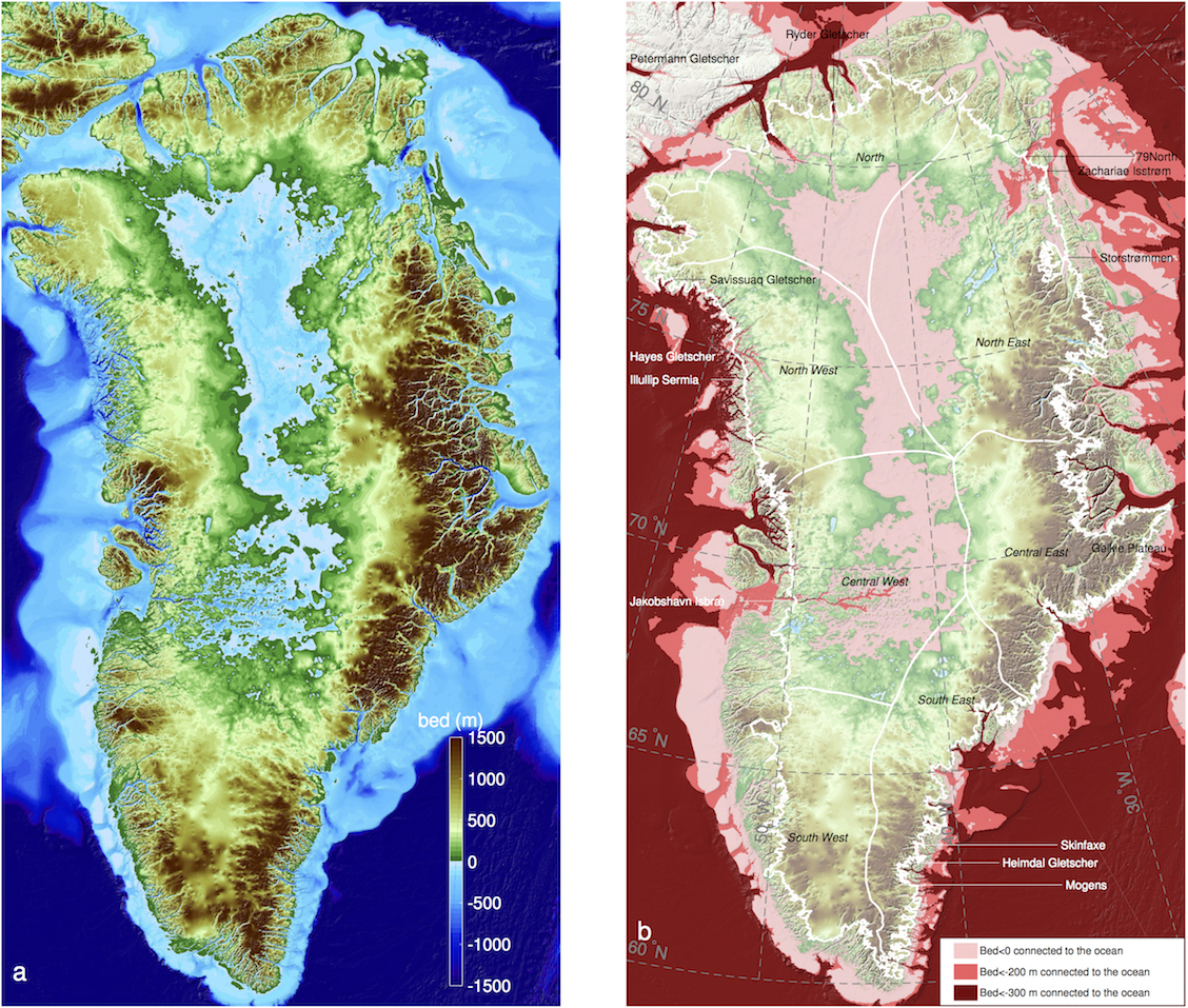 New NASA images of Greenland's coast have revealed that 2 to 4 times as many glaciers are at risk of melting due than previously thought.