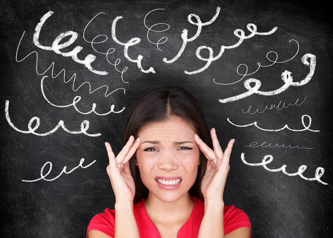 New research has found that stressful situations make it harder for the brain to understand where you are and what's happening around you.