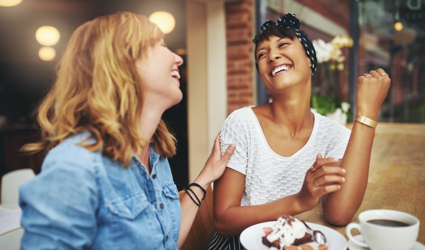 Selecting the best possible friends to spend time with is the secret to happiness, according to a new study.