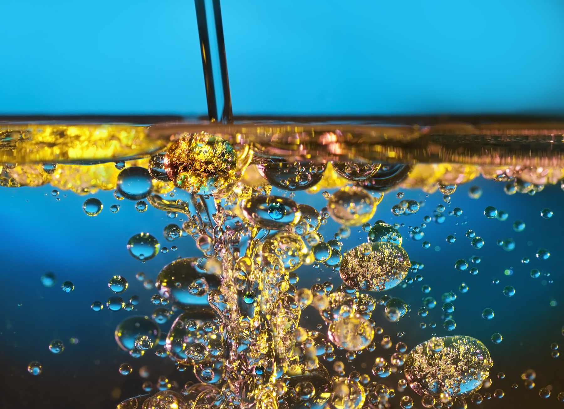 Researchers from MIT have created a new process to mix oil and water that remains stable for an extended period of time.