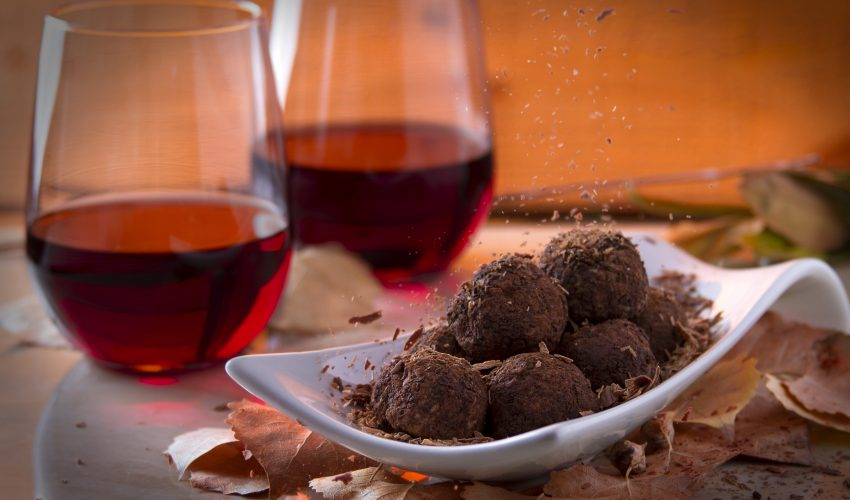 "Researchers from two leading universities have found that chocolate and red wine are ""the secret to beating wrinkles."""