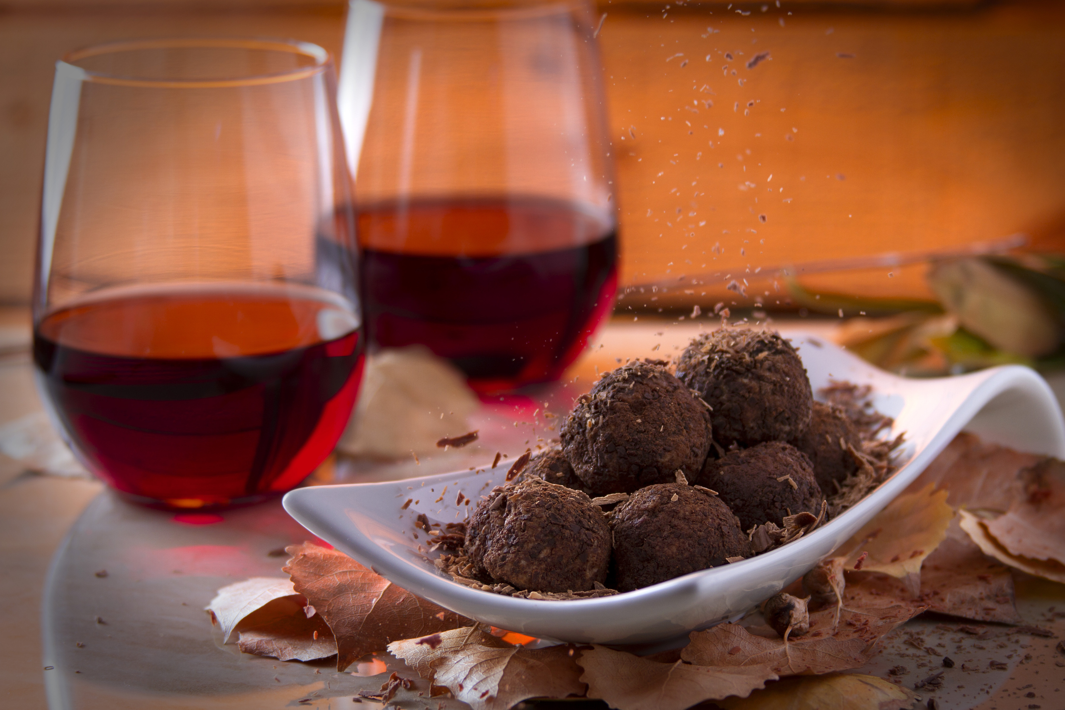 """Researchers from two leading universities have found that chocolate and red wine are """"the secret to beating wrinkles."""""""