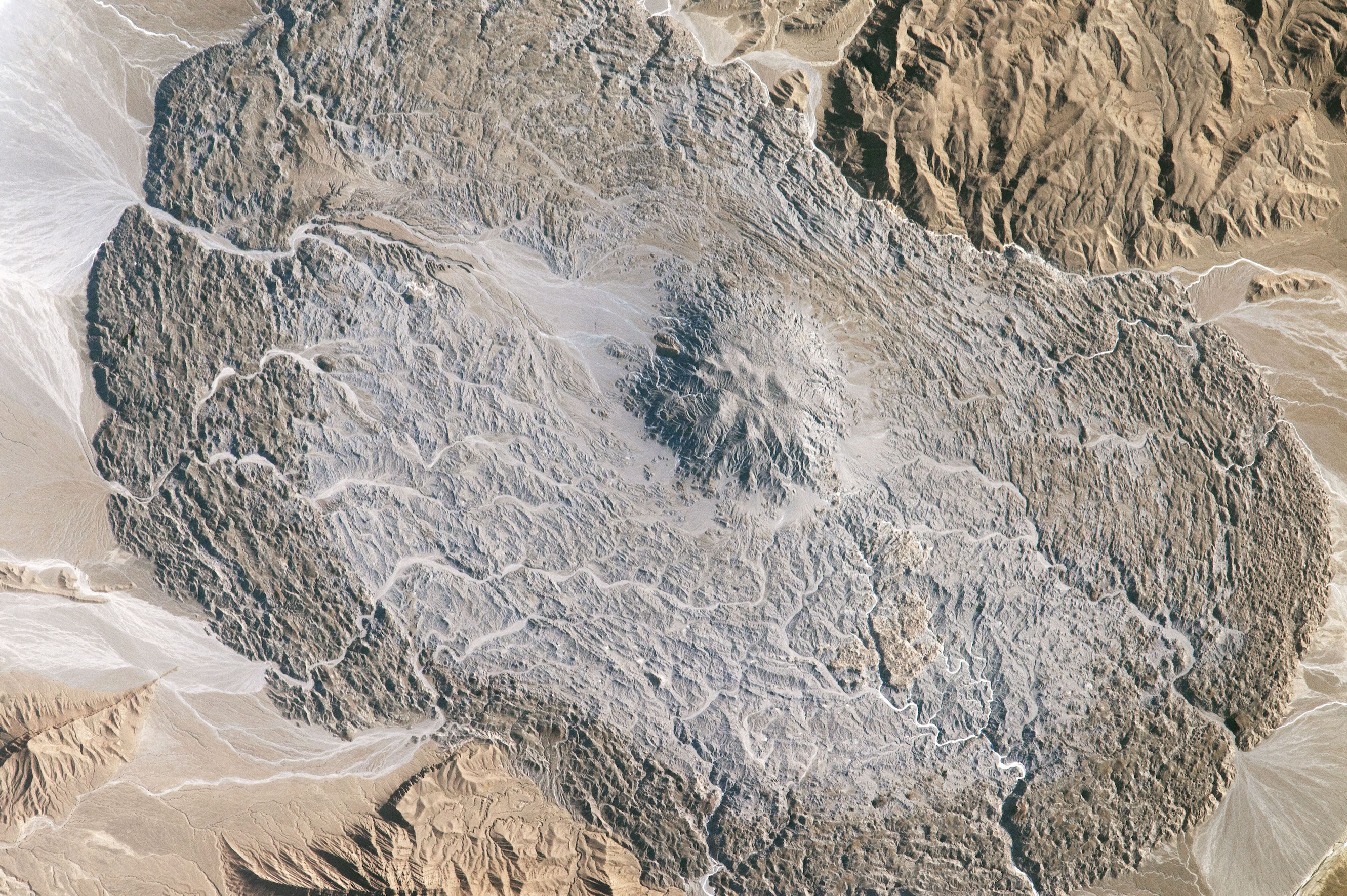 Today's Image of the Day comes courtesy of the NASA Earth Observatory and features a look at the Zagros Mountains in southeastern Iran.