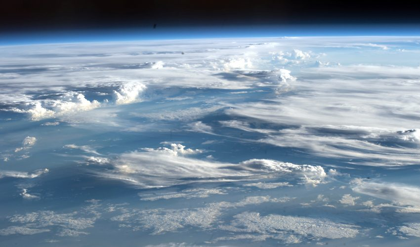 Today's Image of the Day comes courtesy of the European Space Agency (ESA) and features a look at clouds seen from the International Space Station.