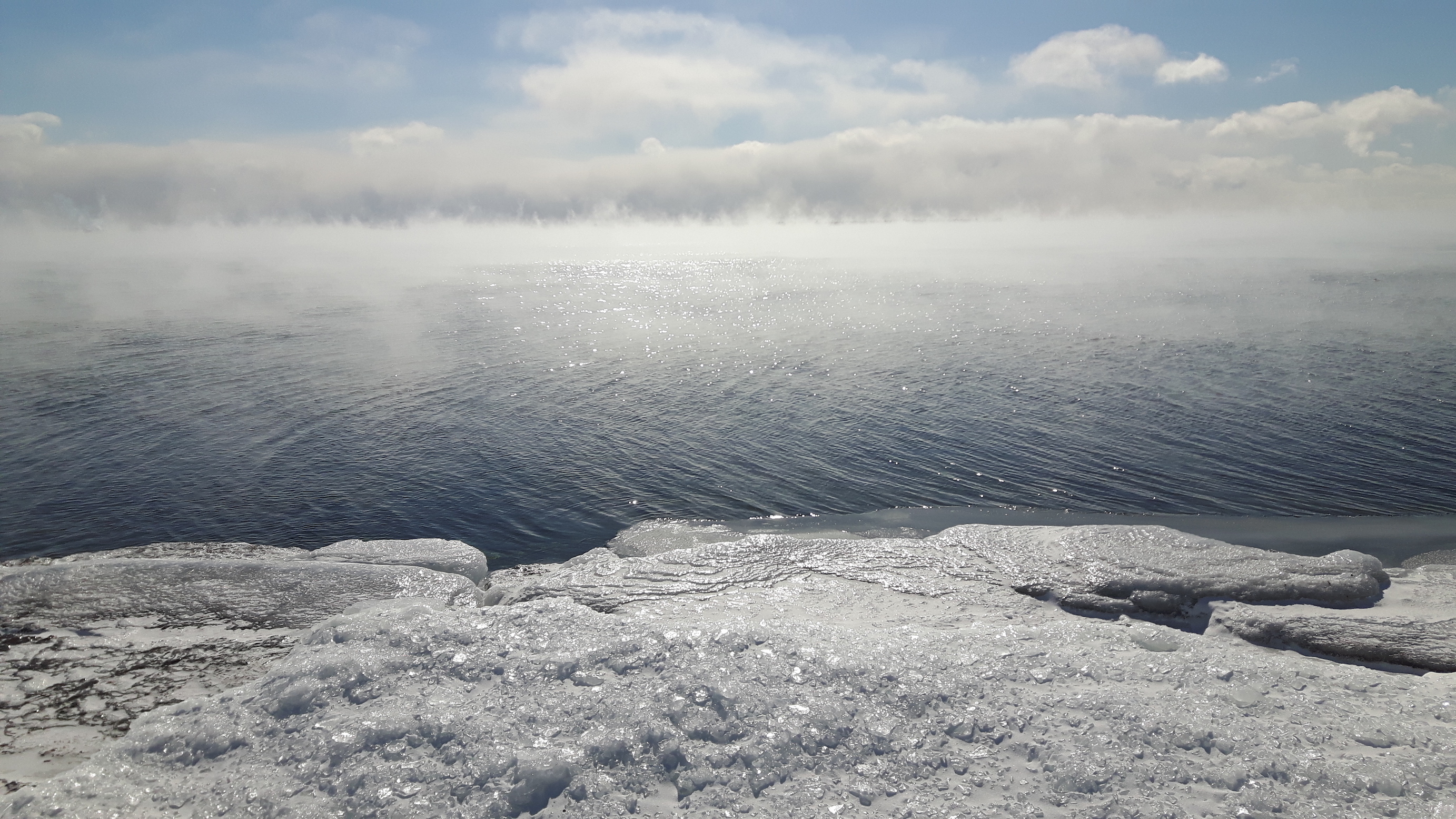 New research from the NSF has found that the shape of Lake Ontario increases the severity of lake-effect snowstorms.